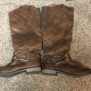 Brown Mossimo Boots